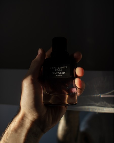 Photo Of Person Holding A Gentlemen Only Cologne Bottle By 1895015