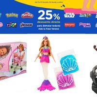 25% de descuento directo en Toys'r us para disfrutar el verano con marcas como Disney, Marvel, Barbie o Nenuco