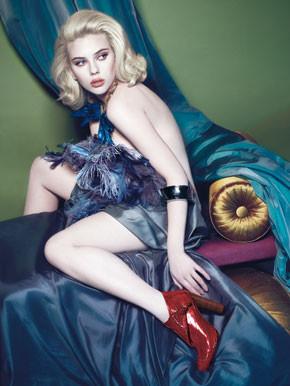 Campaña de Scarlett Johansson para Louis Vuitton Otoño/Invierno 2007-2008