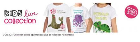 'Manada live': las camisetas con animales que cobran vida gracias a la Realidad Aumentada