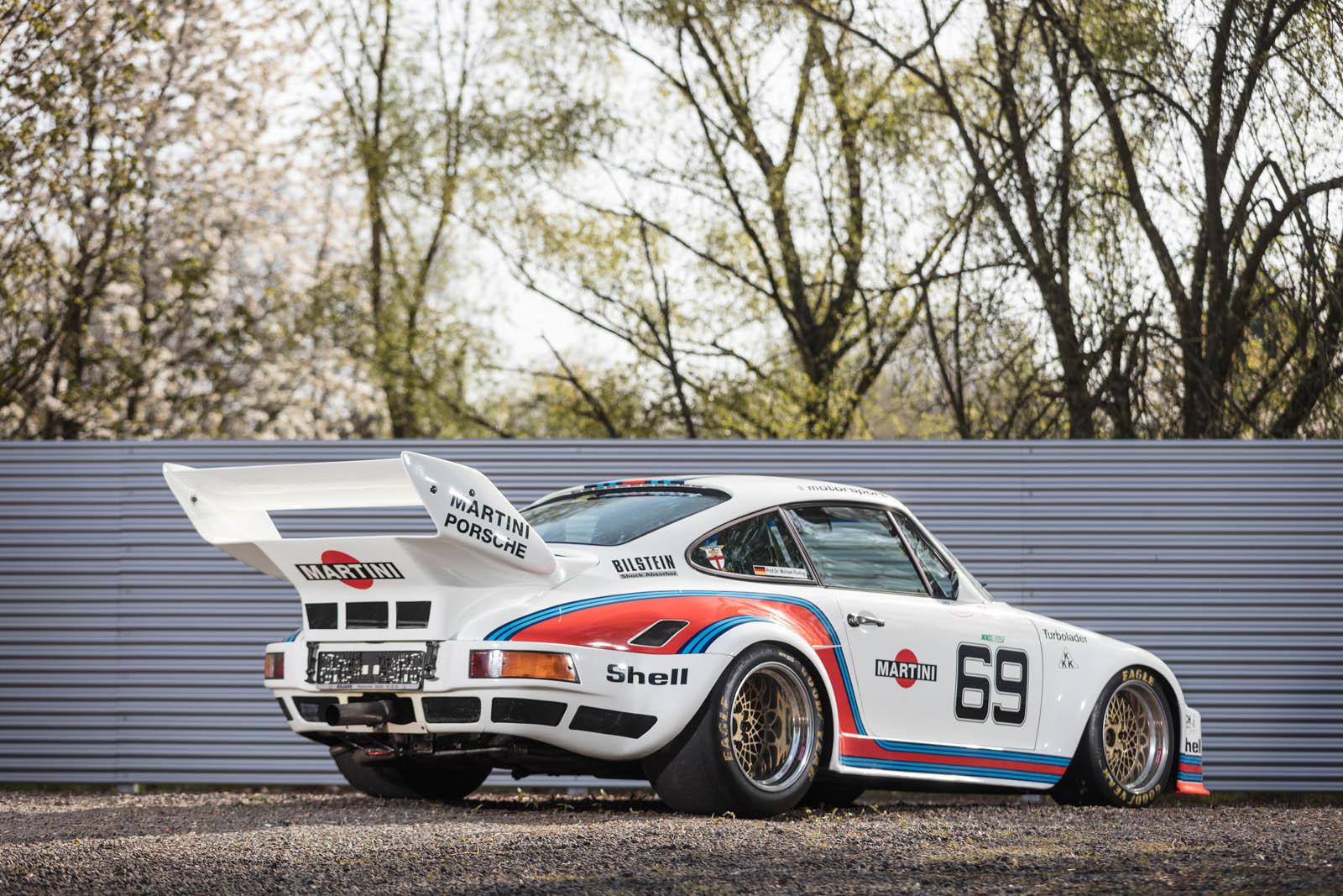 Foto de Porsche 930 clásico a subasta (33/42)