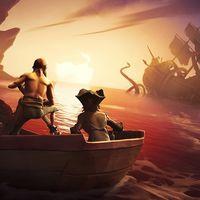Las nuevas imágenes de Sea of Thieves nos muestran cómo será la batalla contra el gigantesco Kraken
