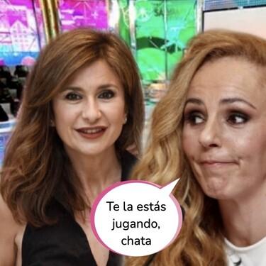 """Gema López saca su lado más kamikaze y se enfrenta a Rocío Carrasco en Sálvame: """"Aquí solo estás por dinero"""""""