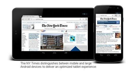 Google nos ayuda a mostrar las páginas web completas en tablets
