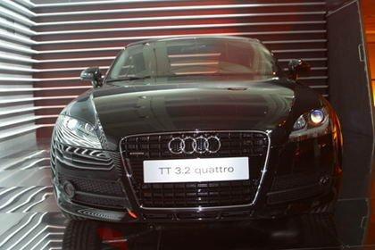 Presentacion Audi TT Madrid