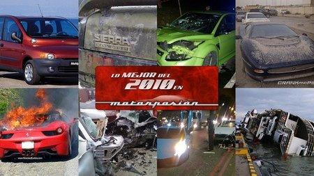 Jaguar XJ220 abandonado, el mejor Dolorpasión™ de 2010