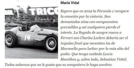 Maria Vidal 2019