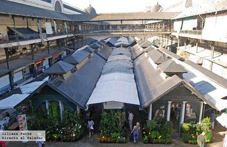 Mercado do Bolhão en Oporto