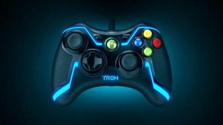Tu mando de Xbox 360, Wii o PS3 en estilo TRON