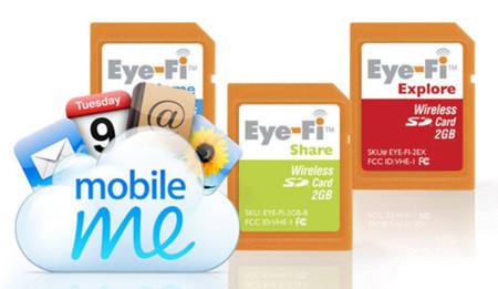 Eye-Fi incorpora soporte para MobileMe