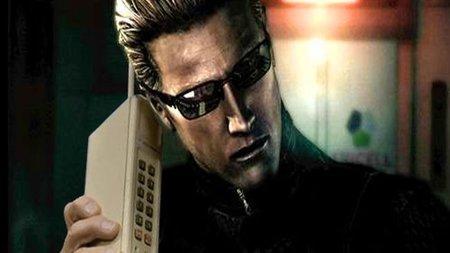 ¿Quieres a Albert Wesker en tu móvil?