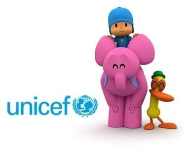 Pocoyó y Unicef, juntos por los derechos de la infancia