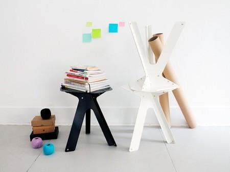 Dahlia, una pequeña mesa auxiliar para interiores y exteriores