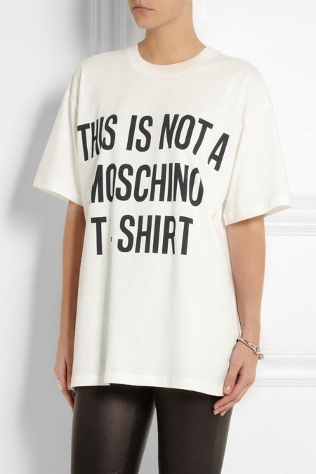 Moschino Camiseta No Logo