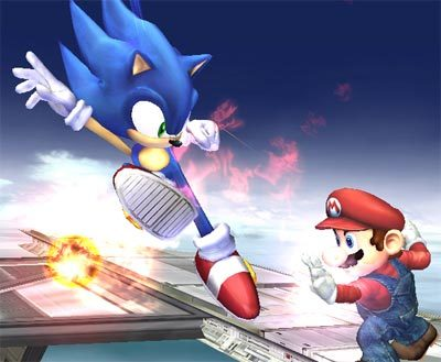Sonic estará en 'Super Smash Bros. Brawl'