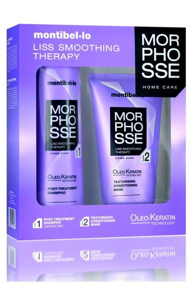 Morphosse, cuidados capilares sin sulfatos post-tratamiento de queratina