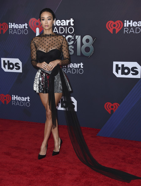 alfombra roja iheartradio music awards red carpet Draya Michele