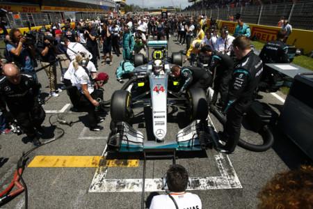 Lewis Hamilton Salida Gp Espana