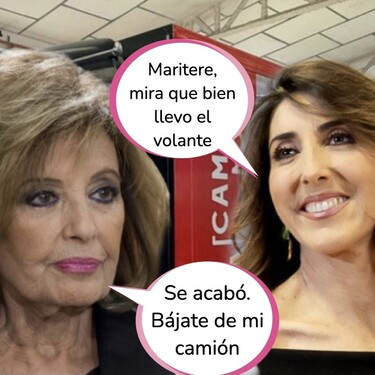 María Teresa Campos se deshace en halagos con Paz Padilla y le hace esta jugosa oferta de trabajo