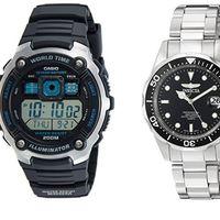 4 relojes en su precio mínimo en Amazon para hombre, mujer y niño