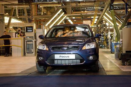 Sale de fábrica el primer Ford Focus de nueva generación