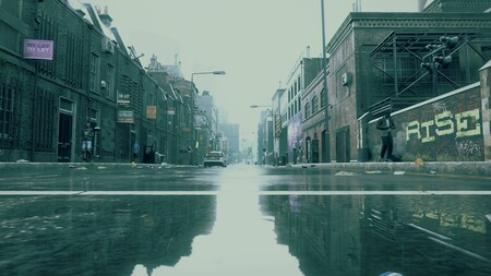 Una tarde lluviosa en Londres