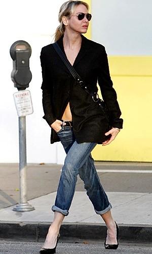 El pantalón de moda es tobillero