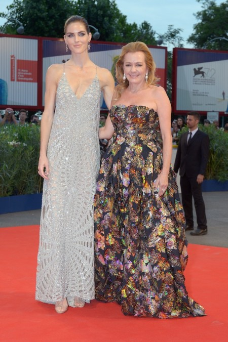 Hilary Rhoda And Caroline Scheufele Spotlight Premiere Venice September 3rd 2015