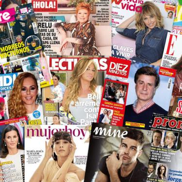 Toñi Moreno nos enseña su choza, Enrique y Paloma se despiden de su matrimonio y Mila Ximénez vuelve con la escopeta cargada: estas son las portadas de la semana del 2 de septiembre