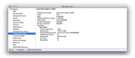 OS X 10.9.3 amplia la VRAM de algunos Mac con gráficas Intel