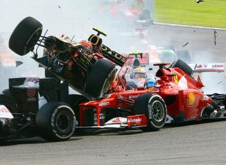 Mensaje de Eric Boullier a Romain Grosjean