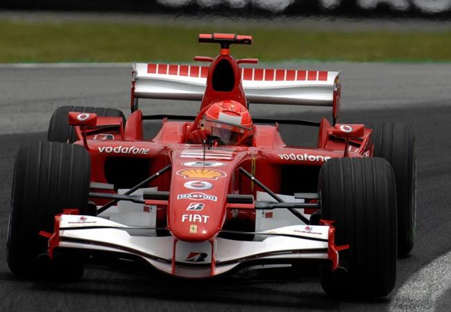 Michael Schumacher Interlagos 2006
