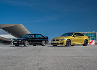 BMW M3 1987 y BMW M4 Coupé