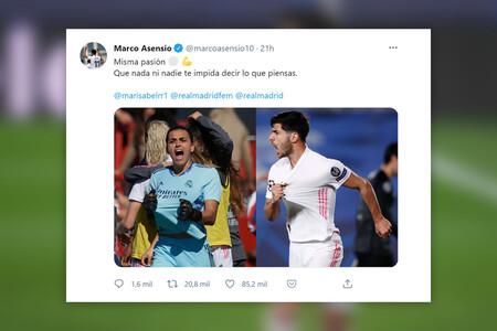 """""""Misma pasión"""": la cadena de apoyo a Misa Rodríguez, portera del Real Madrid, tras ser acosada en redes"""