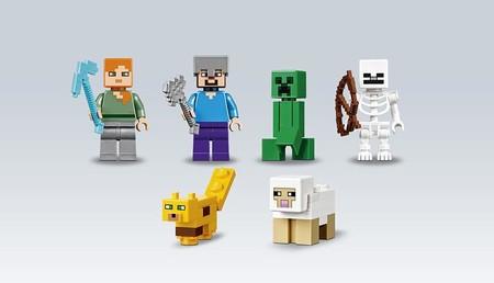 Lego Minecraft Arbol Jungla 2