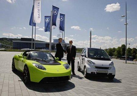 Daimler continuará su programa eléctrico sin Tesla