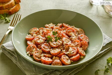 Ensalada sudanesa de tomate, receta fácil, rápida y sabrosa del chef Samy Ali