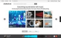 Shutterstock: fotos, vídeos y ahora también música