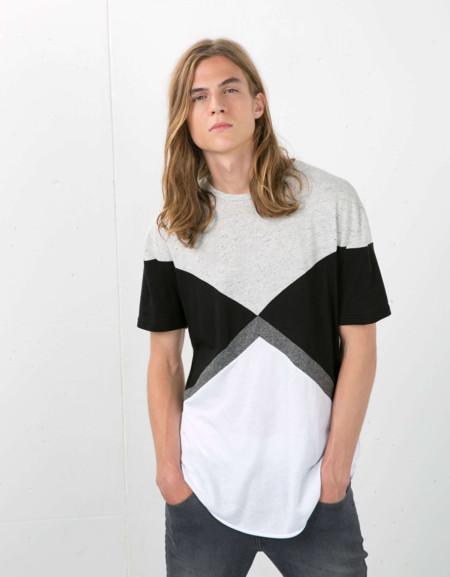 Clon De La Semana Camiseta Goemetrica Trendencias Hombre