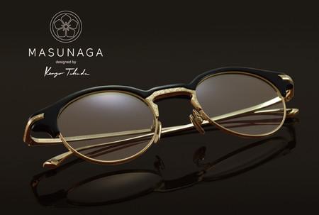 Masunaga Colabora Con Kenzo Takada En Una Modernista Linea De Gafas De Sol