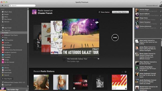 Radio de Spotify
