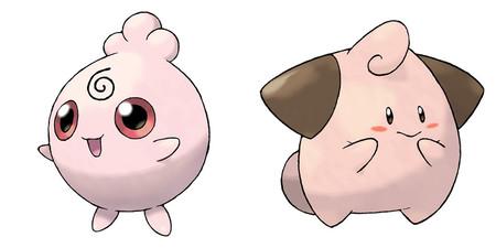 Pokemon Go Cleffa Igglybuff
