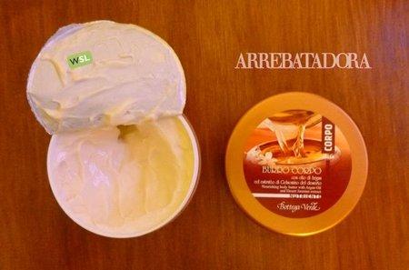 Crema nutritiva corporal