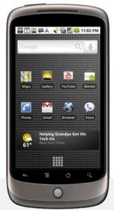 Actualización para el Nexus One: mejoras en conectividad 3G y soporte multitáctil