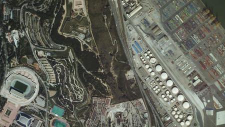 UrtheCast nos muestra Barcelona en movimiento y desde el espacio, con vídeos grabados desde la ISS