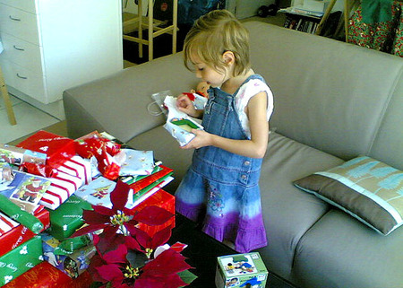 Los niños, el amor y el materialismo