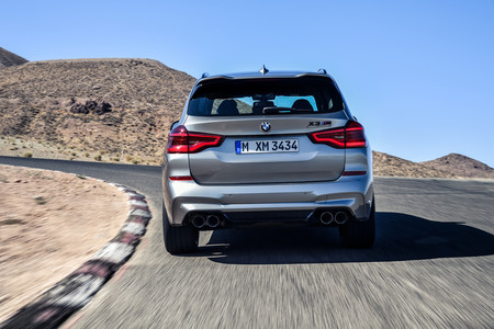 BMW X3 M 2020 trasera