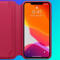 Protección integral para el iPhone 11 Pro Max con la funda Apple Leather Folio, rebajada a uno de sus precios más bajos en Amazon