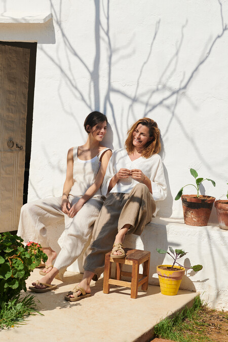 Oysho Linen Collection Editorial 7