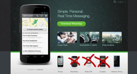 WhatsApp dejará de dar soporte a BlackBerry, Nokia y otros sistemas operativos